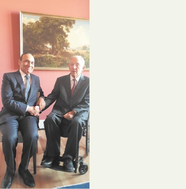 Soutien du président du Bundestag au renouvellement des accords agricole et de pêche Maroc-UE