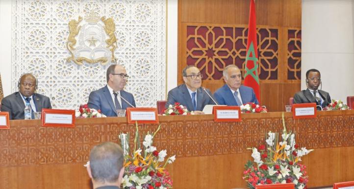 Le discours de S.M le Roi redéfinit l'ordre des priorités nationales, selon les présidents des deux Chambres du Parlement