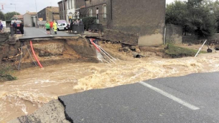 Au moins treize morts dans des orages et des inondations dans le sud de la France