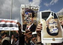 Le mouvement de protestations s'amplifie  : Grève générale et marche géante pour réclamer le départ de Moubarak