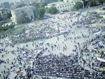 Les opposants de la place Tahrir plus déterminés que jamais