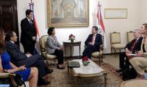 Tenue à Asunción de la première session  des consultations politiques Maroc-Paraguay