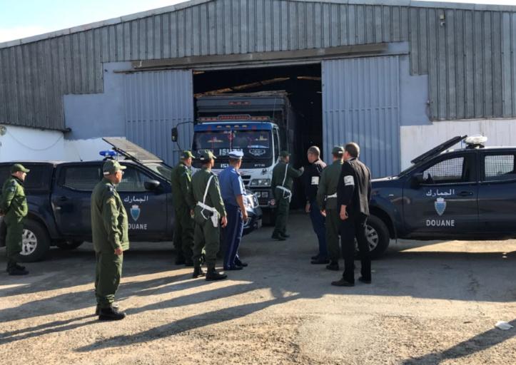 Coup dur porté par la brigade nationale des douanes aux contrebandiers