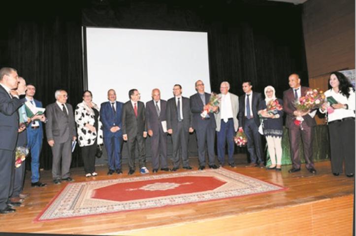 Remise à Rabat du Prix du Maroc du Livre