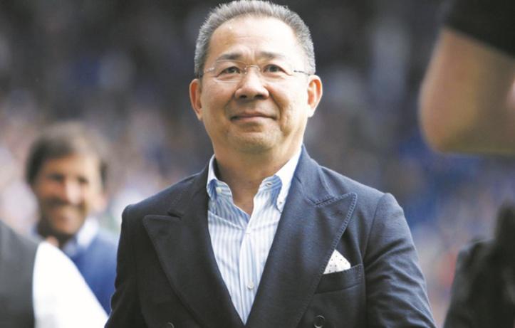 Vichai Srivaddhanaprabha, le milliardaire thaïlandais qui a écrit le conte de fées du club de Leicester
