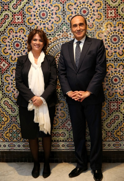 Habib El Malki reçoit la ministre espagnole de la Justice