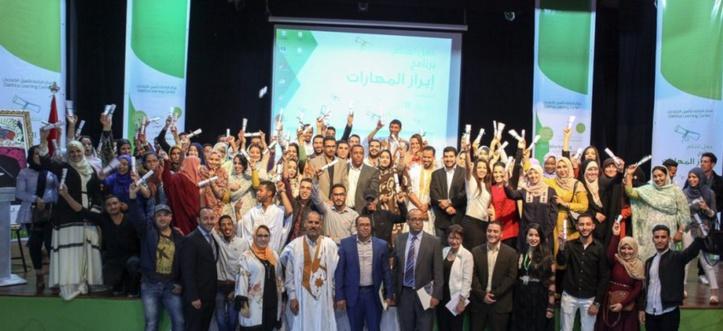 """Plus de 110 bénéficiaires du programme """"Emergence des compétences"""" de la Fondation Phosboucrâa"""