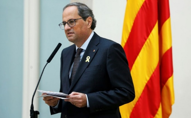 Jusqu'à 25 ans de prison requis contre les dirigeants indépendantistes catalans