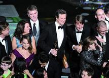 Natalie Portman et Colin Firth sacrés meilleurs actrice et acteur :  Triomphe du «Discours d'un roi» aux Oscars