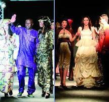 La styliste Jamila Lafqir et le jeune créateur Mamadou Amine Gueye offrent une soirée colorée