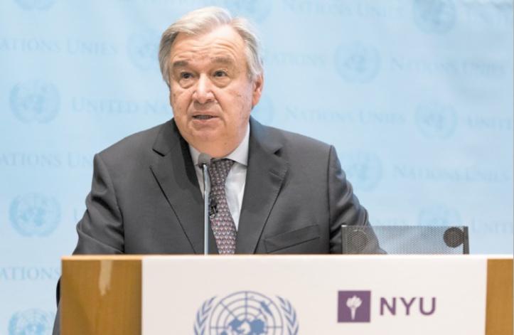 Antonio Guterres favorable à un dialogue renforcé entre Rabat et Alger
