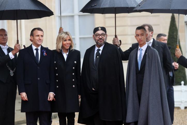 Participation Royale aux cérémonies du  centenaire de l'armistice de la Grande Guerre