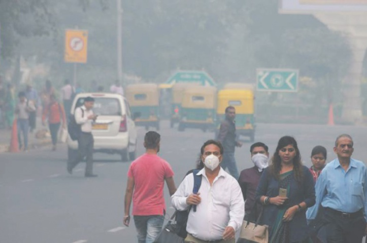 La pollution de l'air de Delhi, la mort à petit feu