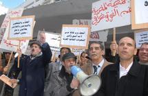 Rassemblement devant le ministère de la Culture : Des centaines d'artistes, créateurs et intellectuels manifestent leur colère