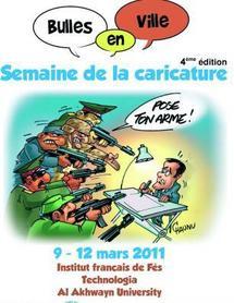 Quatrième Semaine de «Bulles en ville» : La caricature francophone à l'honneur à Fès