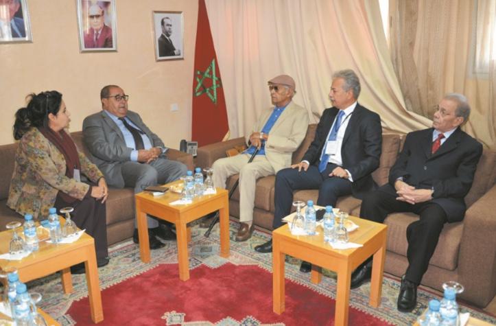 Le Premier secrétaire reçoit une délégation de l'Organisation de solidarité afro-asiatique