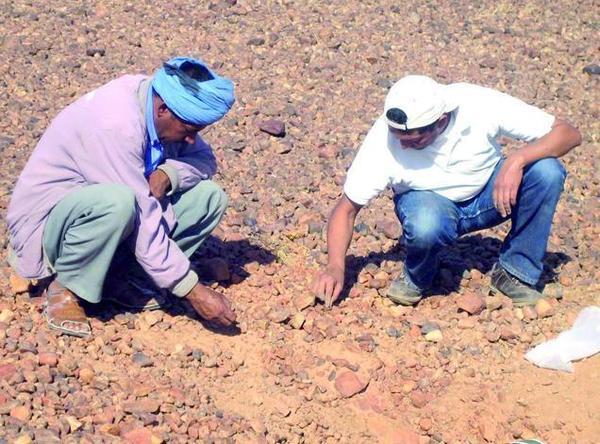 Sous la direction du Pr Abderrahmane Ibhi de l'université Ibn Zohr : Un cratère d'impact météoritique découvert sur la colline Toufassour