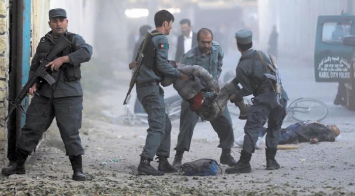 Au moins 22 policiers tués dans un attentat en Afghanistan