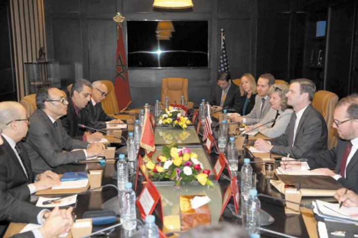 David Hale loue l'appel de S.M le Roi au dialogue avec l'Algérie