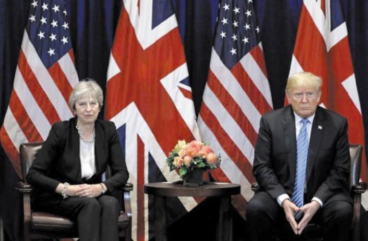 Trump savonne la planche de Theresa May à propos du Brexit