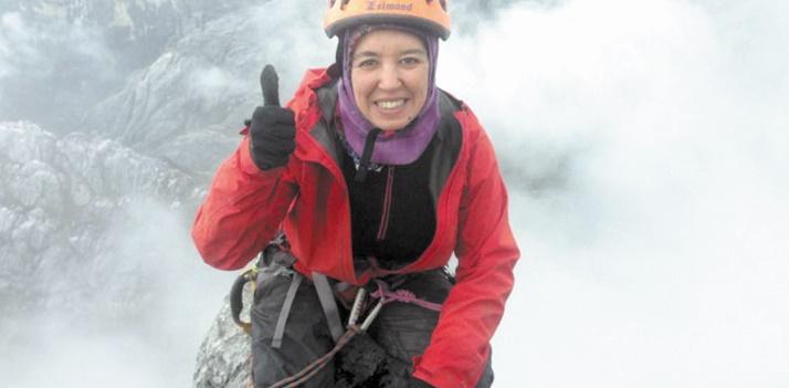 Bouchra Baibanou s'attaque au Mont Vinson