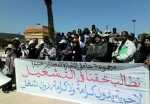 Grogne des licenciés chômeurs à Khénifra : Un dilemme qui taraude les esprits