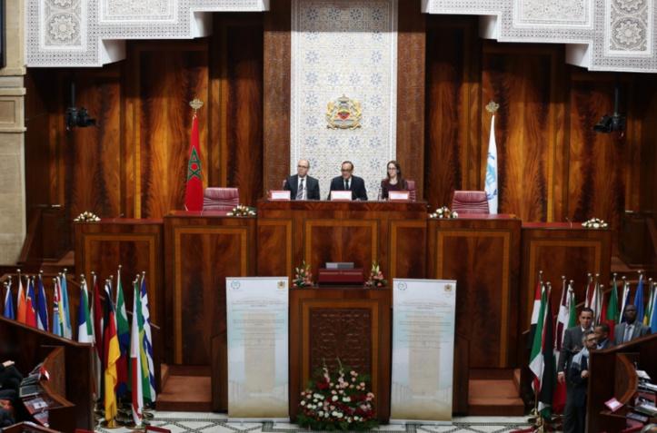 Habib El Malki à l'ouverture des travaux de la rencontre parlementaire internationale
