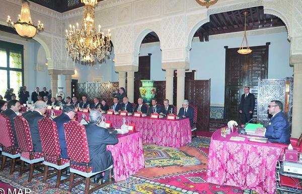 SM le Roi préside un Conseil des ministres  : Moralisation de la vie publique et réforme de la justice à l'ordre du jour