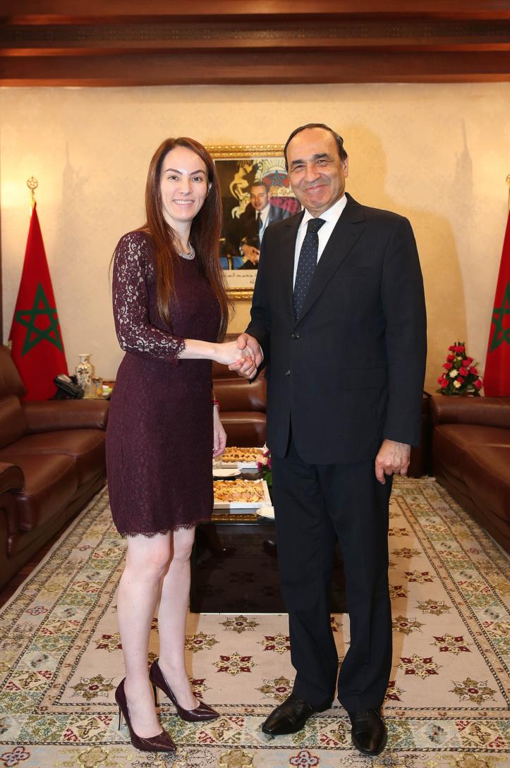 Le président de la Chambre des représentants reçoit Gabriela Cuevas Barrón