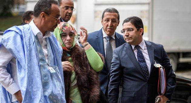 Table ronde de Genève   La confrontation entre cousins sahraouis