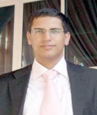 Otmane Gair, militant de la Jeunesse ittihadie