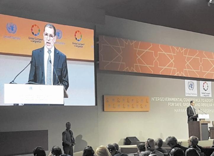 Dans un message à la Conférence intergouvernementale sur la migration