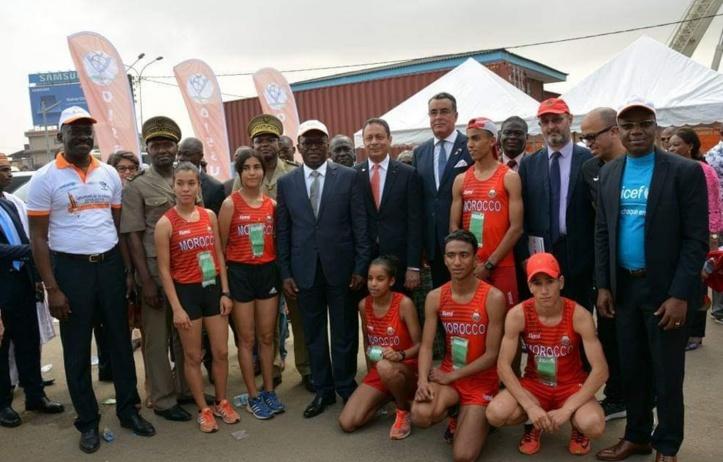Carton des scolaires marocains au championnat africain de cross