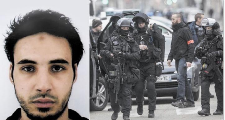 Chérif Chekatt abattu par la police à Strasbourg
