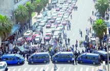 Ils ont bloqué la circulation à Casablanca : Des chauffeurs de taxi mécontents