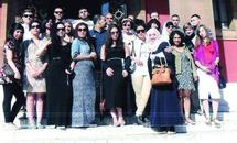 De jeunes Britanniques d'origine marocaine en visite au Maroc