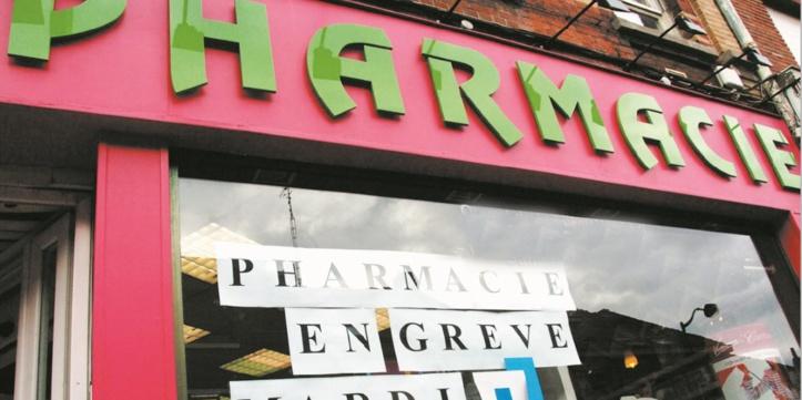 Les pharmaciens partent en grève
