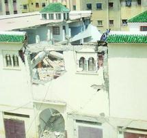 Effondrement d'une mosquée à Fès
