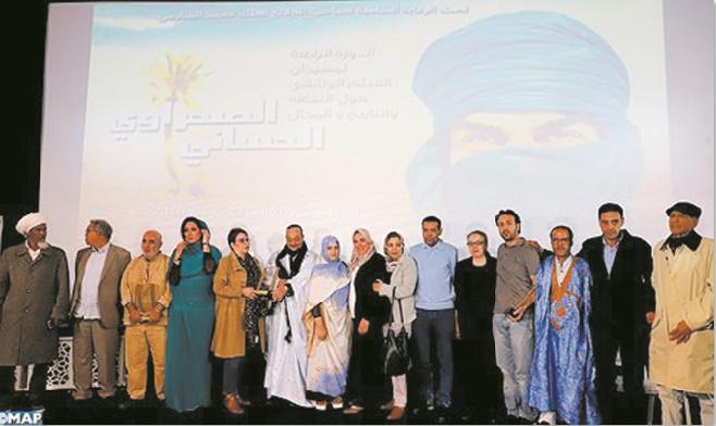 Lahcen Majid, lauréat du Festival du film documentaire sur la culture, l'histoire et l'espace sahraoui hassani