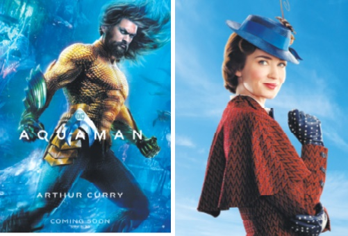 Un super-héros et une super nounou en tête du box-office