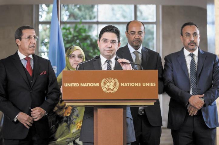 Réunion à Genève sur le Sahara