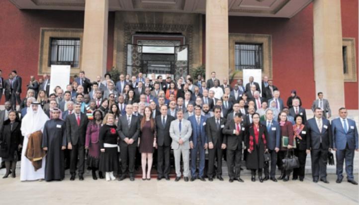La diplomatie parlementaire en action
