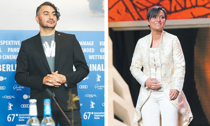 Hicham Lasri et Narjiss Nejjar au Festival du film de Berlin