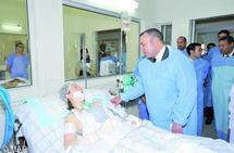 Le Souverain au chevet des blessés de l'attentat de Marrakech  : Mobilisation nationale contre le terrorisme