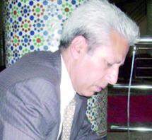 Le poète et écrivain algérien Saïd Hadef en marge de la 2ème édition de la Rencontre de la poésie à Laâyoune