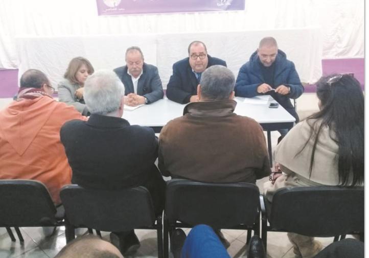 Driss Lachguar se réunit avec le Secrétariat provincial de Rabat