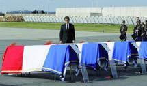 """Nicolas Sarkozy lors de la cérémonie d'hommage aux victimes de l'attentat de Jamaa El Fna : """"Le Roi du Maroc a fait preuve d'une très grande capacité d'innovation"""""""
