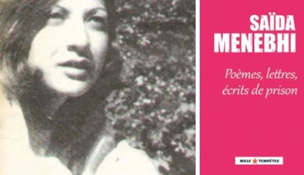 Saïda Menebhi : Poèmes de douleur et  d'espoir