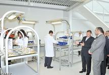 Le Souverain lance les travaux d'aménagement de la P2I de Nouaceur: S.M le Roi inaugure l'usine modèle INMAA