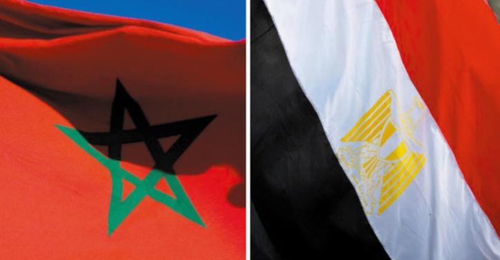 Le Maroc et l'Egypte réaffirment leur volonté commune de renforcer les relations bilatérales